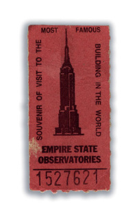 Empire State Building ticket