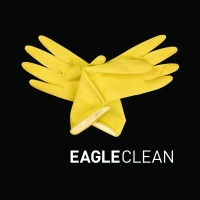 Eagleclean identity, designed by The Partners