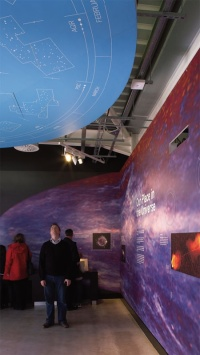 The Jodrell Bank Discovery Centre exhibition
