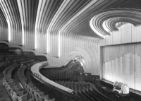 Odeon cinema, Leicester Square, London: the auditorium seen from circle right