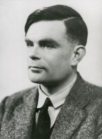 Alan Turing 29 March 1951 (NPL Archive Science Museum)