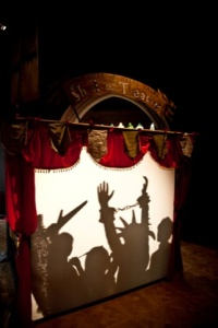 The House of Fairytales, The Adventure of The Missing Manuscript Shadow Theatre
