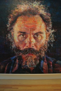 Lucas, by Chuck Close