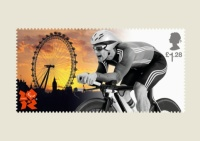Paralympics Stampcards Cyclists