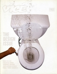 Terry Richardson's Design Issue cover. The issue covered everything design related from home-made cockroach killing machines, to Star Wars hoarders and home-made weapons from the UK's premier young offenders institutions.