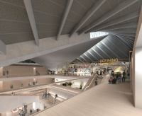 Design Museum Kensington render Top Floor - Permanent Exhibition credit Alex Morris Visualisation[2]