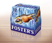 Fosters packaging
