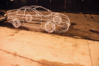 3D wire car