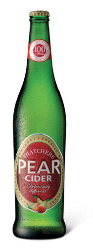 Barneys pear cider