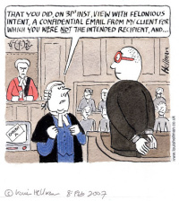 Strictly Confidential cartoon