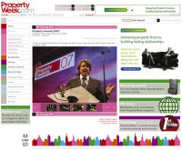 Property Week redesigned site