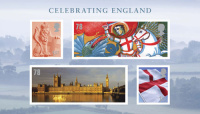 Silk Pearce unveiled its new stamp designs for Royal Mail today, in celebration of St George's Day.