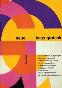 Early Neue Haas Grotesk