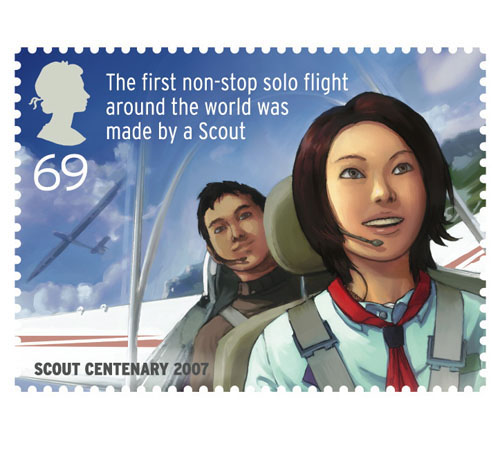 Scout stamps