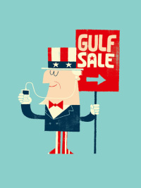 Gulf Sale, Adrian Johnson