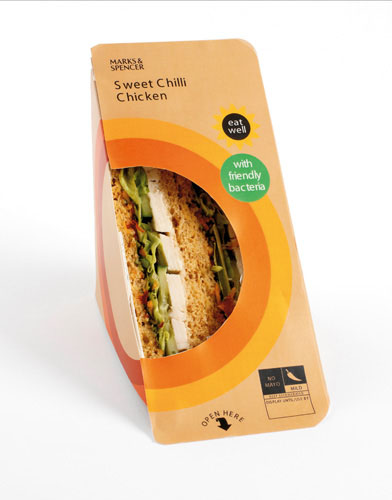 Marks & Spencer sandwiches