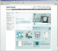 John Lewis website...