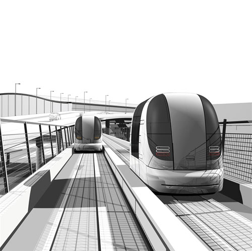 Heathrow Airport's Personal Rapid Transit System