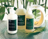 Toiletries from The Body Shop