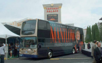 Las Vegas double-decker bus