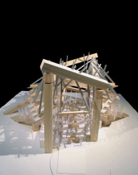 Frank Gehry's designs for London's Serpentine Gallery Pavilion 2008