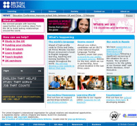 British Council website...