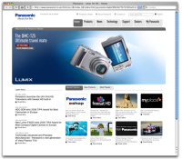 panasonic homepage...