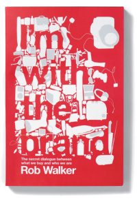 The cover of I'm With the Brand has been designed and illustrated by Jawa & Midwich.