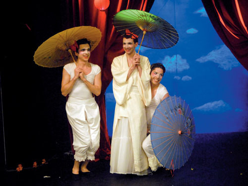 The Union Theatre's sell-out all-male production of The Mikado