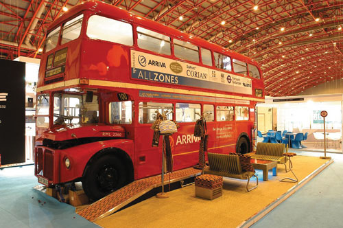 London Transport Museum, refurbished by Avery