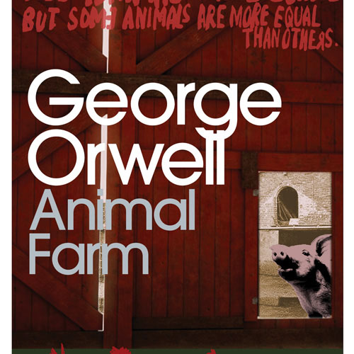 The new George Orwell covers by illustrator Marion Deuchars