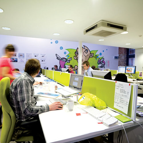 Digital design group E3's studio