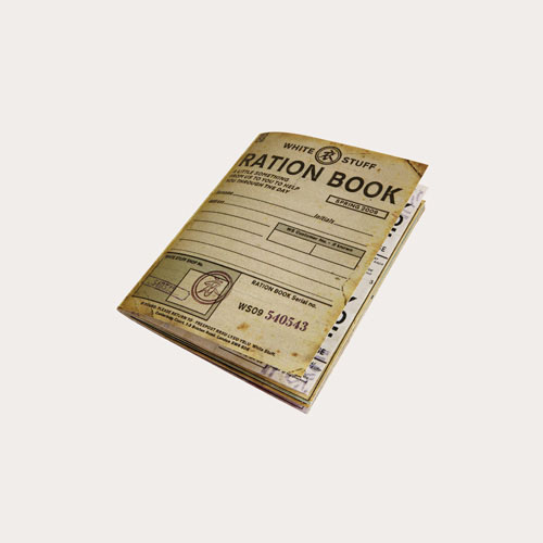 Chris Leishman Design has created the Ration Book, a promotional device for fashion and lifestyle retailer White Stuff which features special offers. It launches later this month.