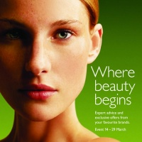 John Lewis beauty campaign press advertisement
