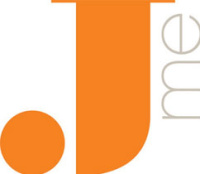Jme logo, created by Pearlfisher for Benchmarks Client of the Year Jamie Oliver Holdings