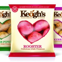 Leahy Brand Design has created new branding and packaging for Irish potato brand Keogh's Potatoes.