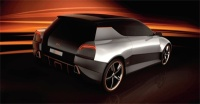 The Super Hatchback Concept car