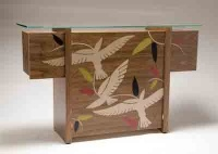 Bird sidetable by Toby Winteringham