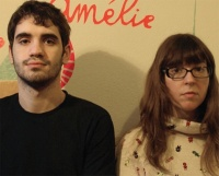 Matteo Oliverio and Amélie Labarthe