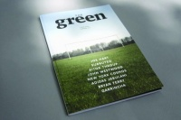 Issue Zero of The Green, the new football journal by editorial and creative directors Adam Towle and James Roper, with design and art direction by Junior Junior, produced by Nirvana Creative Production House
