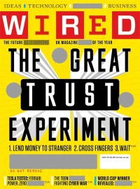 Cover of the June issue of Wired UK magazine