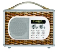 Abigale Hartley's wicker basket picnic radio