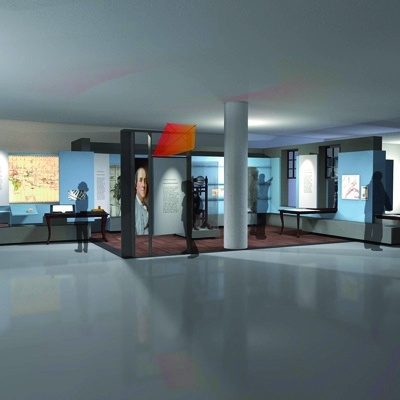 Benjamin Franklin Life and Legacy Museum in Philadelphia, with exhibition design by Casson Mann