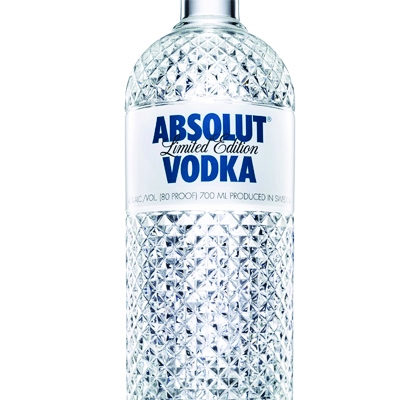 Absolut Vodka has worked with Swedish consultancy Family Business to create a limited-edition faceted bottle design.
