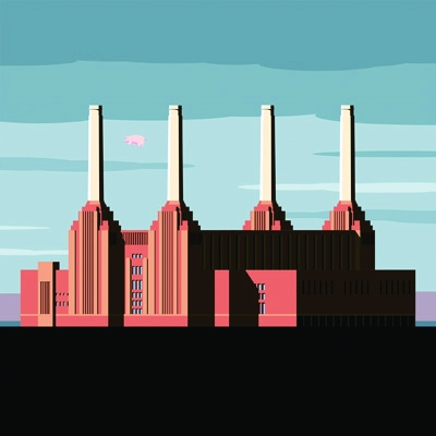 Artists and designers including Jonathan Wilkinson (work pictured,) Dust  and Pete McKee have been invited to interpret the cover art of an album that has special significance to them as part of the Cover Version exhibition, held at The Month of Sundays G