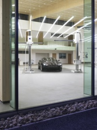 The Aston Martin design studio in Gaydon, Warwickshire