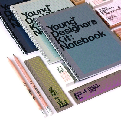 Build has created a new range of stationery for the Design Museum's shop.