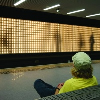 Jason Bruges Studio's 144m-long illuminated installation at Sunderland rail station