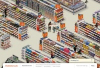 The Digital Design - Information category was won by the Online Annual Report 2009 by SAS for Sainsbury's at the 2010 awards