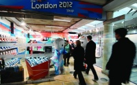 London 2012 shop in Paddington station